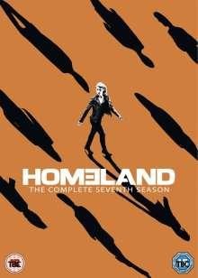 Homeland Season 7 (UK Import), 4 DVDs