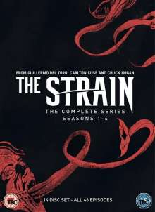 The Strain - Complete Series (UK Import), 14 DVDs