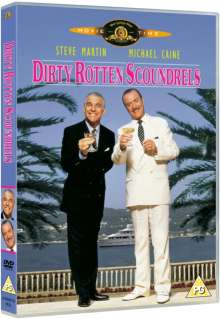 Dirty Rotten Scoundrels (1989) (UK Import mit deutscher Tonspur), DVD