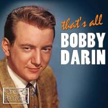 Bobby Darin: That's All, CD