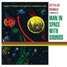 Attilio Mineo: Man In Space With Sounds, CD