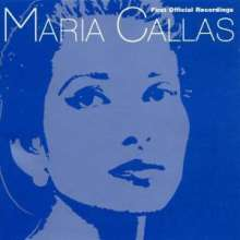 Maria Callas - First official Recordings, CD