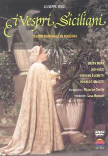 Giuseppe Verdi (1813-1901): I Vespri Siciliani, DVD