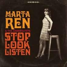 Marta Ren & The Groovelvets: Stop, Look, Listen, LP