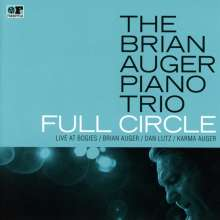 Brian Auger: Full Circle: Live At Bogie's, CD
