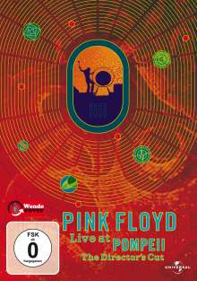 Pink Floyd: Live At Pompeji 1972 (Director's Cut), DVD