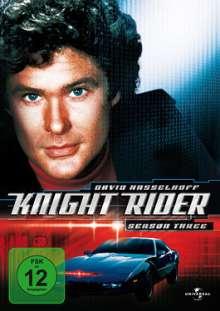 Knight Rider Season 3, 6 DVDs