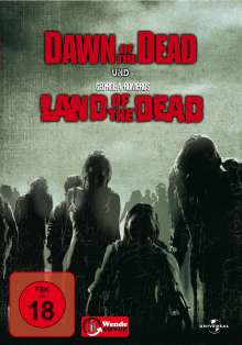 Land of the Dead / Dawn of the Dead, 2 DVDs