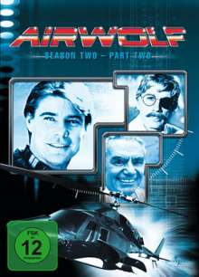 Airwolf Season 2 Box 2, 3 DVDs