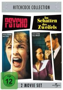 Hitchcock: Psycho/Im Schatten des Zweifels, 2 DVDs