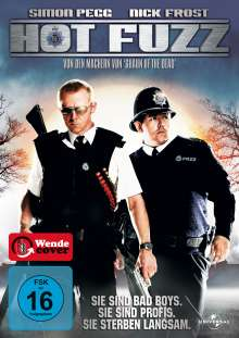 Hot Fuzz, DVD