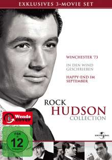 Rock Hudson Collection, 3 DVDs