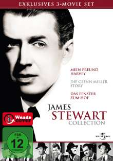 James Stewart Collection, 3 DVDs