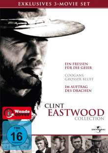 Clint Eastwood Collection, 3 DVDs