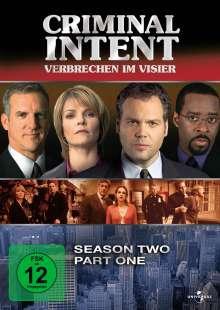 Criminal Intent Season 2 Box 1, 3 DVDs
