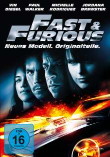 Fast And Furious - Neues Modell. Originalteile, DVD