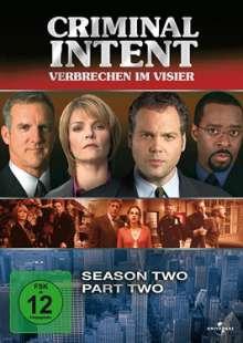 Criminal Intent Season 2 Box 2, 3 DVDs