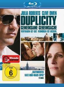 Duplicity (2008) (Blu-ray), Blu-ray Disc