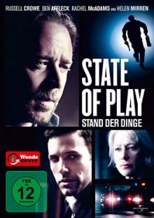 State Of Play - Stand der Dinge, DVD