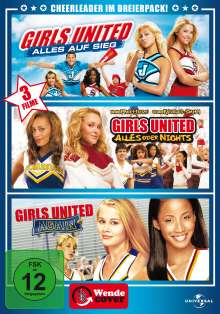 Girls United Box, 3 DVDs