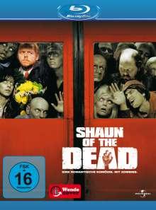 Shaun of the Dead (Blu-ray), Blu-ray Disc
