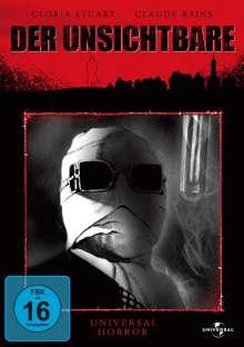 Der Unsichtbare, DVD