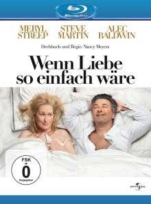 Wenn Liebe so einfach wäre (Blu-ray), Blu-ray Disc