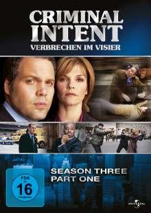 Criminal Intent Season 3 Box 1, 3 DVDs