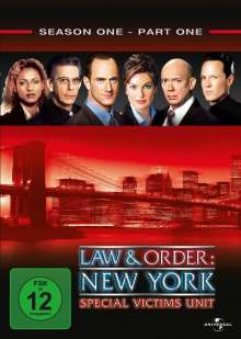 Law And Order Special Victims Unit Season 1 Box 1, 3 DVDs