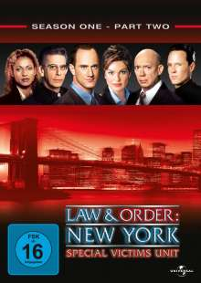 Law And Order Special Victims Unit Season 1 Box 2, 3 DVDs