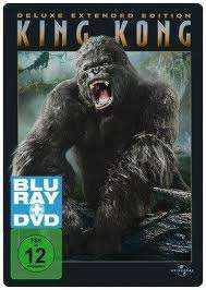 King Kong (2005) (Blu-ray + DVD) (Steelbook), Blu-ray Disc