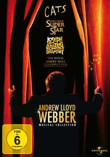 Andrew Lloyd Webber Musical Collection, 4 DVDs