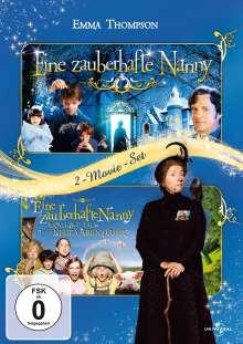 Eine zauberhafte Nanny 1 & 2, 2 DVDs