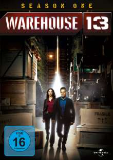 Warehouse 13 Season 1, 3 DVDs