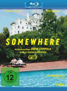 Somewhere (Blu-ray), Blu-ray Disc