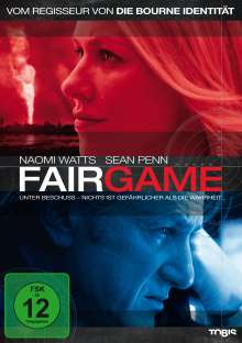 Fair Game, DVD