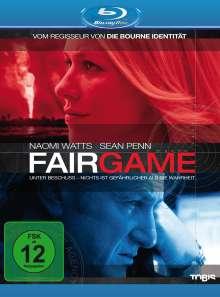 Fair Game (Blu-ray), Blu-ray Disc