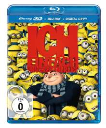 Ich - Einfach unverbesserlich (Blu-ray 2D+3D, Digital Copy), Blu-ray Disc