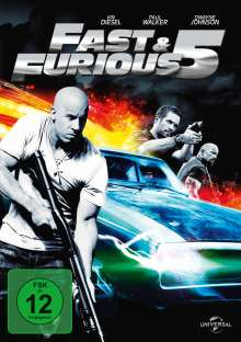 Fast And Furious 5, DVD