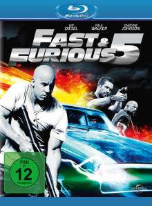 Fast & Furious 5 (Blu-ray), Blu-ray Disc