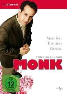 Monk Season 1, 3 DVDs
