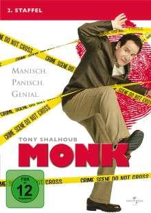 Monk Season 2, 4 DVDs