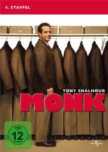 Monk Season 4, 4 DVDs