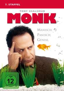 Monk Season 7, 4 DVDs
