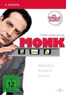 Monk Season 8, 4 DVDs