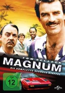 Magnum Staffel 6, 5 DVDs