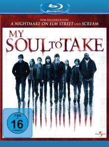 My Soul To Take (Blu-ray), Blu-ray Disc