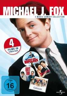 Michael J. Fox Collection, 4 DVDs
