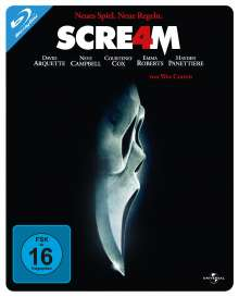 Scream 4 (Blu-ray im Steelbook), Blu-ray Disc