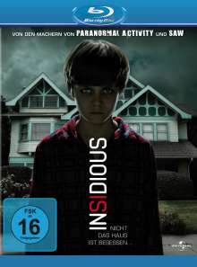 Insidious (Blu-ray), Blu-ray Disc